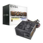 Fonte ATX 600B 600W 80 Plus Bronze 100-B1-3600-KB - EVGA