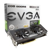 Placa de Vídeo GeForce GTX760 2GB DDR5 SC 256Bits 02G-P4-2765KT - EVGA