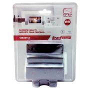 Suporte Fixo Para TV LCD/Plasma/Led Preto de 10 a 71 SBRUB 758 Blister 16427 - Brasforma
