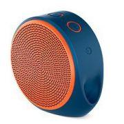 Saldão!!! Caixa de Som Bluetooth X100 Azul / Laranja 984-000388 - Logitech