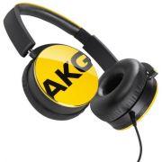 Fone de Ouvido Y50 Amarelo Y50YEL - AKG