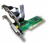Placa PCI C/2 Seriais e 1 Paralela PC4 - Lotus