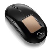 Mouse Solar Laser USB sem Fio MO199 Preto - Multilaser