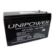 Bateria 12V 7.0Ah UP1270 F187 - Unipower