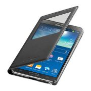Capa S View Cover para Galaxy Note 3 EF-CN900BBEGBR Preta - Samsung