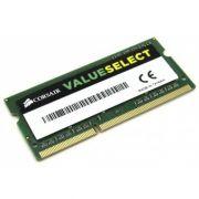 Memoria de Notebook 4GB CL11 DDR3 1600MHz SODIMM CMSO4GX3M1A1600C11 - Corsair