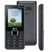 Celular Desbloqueado A395 Preto Com Quadri Chip Camera 1.3MP, MP3, Radio FM, Bluetooth, Fone e Cartao de 2GB - LG