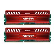Memória Viper 3 Red 16GB (2x8GB) 1600MHz DDR3 PV316G160C9KRD - Patriot