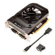 Placa de Vídeo Geforce GTX750 1GB GDDR5 128Bits VCGGTX7501XPB - PNY