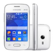 Smartphone Galaxy Pocket 2 Duos SM-G110B, Proc 1Ghz, Andr 4.4, Tela 3.3, 4GB, Câm 2MP, 3G, Dual Chip, Branco - Samsung