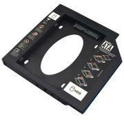 Adaptador HDD/SSd Para Notebook Via Baia De 12,7mm Cd/dvd GA173 - Multilaser