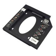Adaptador Hdd/ssd Para Notebook Via Baia De 9,5mm Cd/dvd GA172 - Multilaser