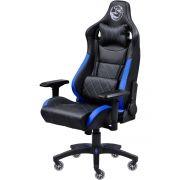 Cadeira Gamer Mad Racer V10 Preto/Azul com Rodas em Gel MADV10AZGL - Pcyes
