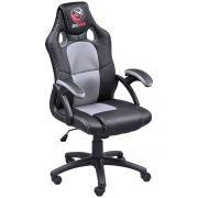 Cadeira Gamer Mad Racer V6 Cinza/Preto MADV6CZ - Pcyes