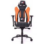 Cadeira Gamer Prime Preto/Laranja/Branco 10548-8 - DT3 Sports
