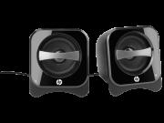 Caixa de Som 2.0 Compact USB Preta BR387AA - HP