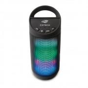 Caixa de Som BEAT Bluetooth LED Portátil 8W RMS Preta SP-B50BK - C3 Tech