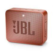 Caixa de Som Bluetooth JBL GO 2 (à prova dágua) Cinnamon JBLGO2CINNAMON - JBL