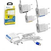 Carregador Para Celular V8 2.1A 1 Porta USB (AD0337) FT-USB-CB-2 - SHINKA