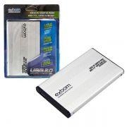 Case 2,5 Hd Sata Usb 2.0 Externo CGHD-10 CS0026EX Prata - EXBOM