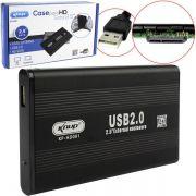 Case 2.5 Hd Sata Usb 2.0 Para Pc E Notebook KP-HD001 CS0026KP - KNUP