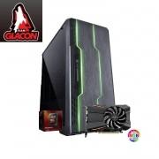 Computador Gamer AMD FX 8370E, Memória de 8GB, HD de 1TB, Fonte de 600W com PFC, Vídeo Radeon RX 560 OC 4GB - Glacon