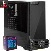Computador Gamer Intel 8ª Geração i3 8100, Memória de 8GB DDR4, HD de 1TB, VGA GTX 1050 4GB, Fonte com PFC de 430W - Glacon