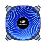 Cooler para Gabinete 120mm 30 LEDs Azul F7-L130BL Storm - C3 Tech