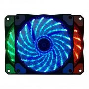 Cooler Para Gabinete 120mm RGB BF-06RGB - Bluecase Gamer