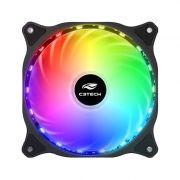 Cooler para Gabinete 120mm Storm LED RGB F9-L150RGB - C3 Tech