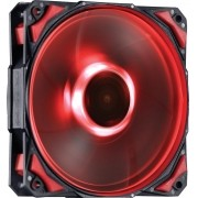Cooler para Gabinete Fury F5 120mm LED Vermelho F5120LDVM 24033 - Pcyes