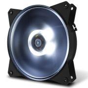 Cooler para gabinete Masterfan 120MM MF120L Led Branco R4-C1DS-12FW-R1 - Coolermaster