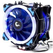 Cooler para Processador Galaxy G300 LED Azul (2 Fans) INTEL/AMD RM-AC-01-BB - Rise Mode