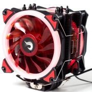 Cooler para Processador Galaxy G300 LED Vermelho (2 Fans) INTEL/AMD RM-AC-01-BR - Rise Mode