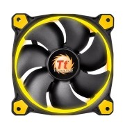 Cooler Riing 12 Yellow 1500RPM CL-F038-PL12YL-A - Thermaltake