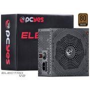 Fonte ATX 750W Real Electro V2 Series 80 Plus Bronze ELECV2PTO750W - Pcyes