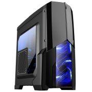 Gabinete Gamer Centauro Led Azul MCA-KU-855B/BL - Mymax