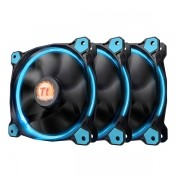Kit Cooler Riing 12 Blue 1500RPM (Pack com 03 Unidades) CL-F055-PL12BU-A - Thermaltake
