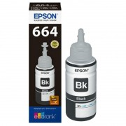 KIT REFIL DE TINTA T664120 PRETO PARA (L110 / L200 / L355 / L365 / L375 / L3150) - EPSON