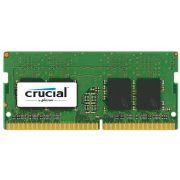 Memória para Notebook 8GB DDR4 2400Mhz 1.2V SODIMM CT8G4SFS824A - Crucial
