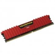 Memória Vengeance LPX 4GB 2400Mhz DDR4 CL16 Red CMK4GX4M1A2400C16R - Corsair