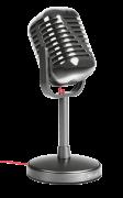Microfone ELVII Desktop T20111 - Trust