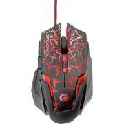 Mouse Gamer USB 3200DPI SPIDER 2 OM-705 Preto/Vermelho 60838 - Fortrek