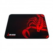 Mouse Pad Rise Gaming Scorpion Red Grande em Fibertek Costurado RG-MP-05-SR - Rise Mode