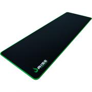 Mouse Pad Rise Gaming Zero Verde Extended em Fibertek Costurado RG-MP-06-ZG - Rise Mode