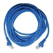 Patch Cord UTP CAT5 26AWG 5 Metros Azul 27678 - Seccon (com ST)