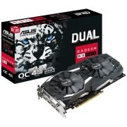 Placa de Video AMD Radeon RX 580 OC Edition 4GB DDR5 256 Bits DUAL-RX580-O4G - ASUS