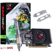 Placa de Vídeo GeForce GT 730 4GB DDR3 128 Bits Kit Low Profile Incluso PTYT730GT12804D3LP - Pcyes