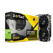 Placa de Vídeo Geforce GTX 1070 Mini 8GB GDDR5 256Bits ZT-P10700G-10M - Zotac
