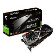 Placa de Vídeo GeForce GTX 1080Ti Aorus 11GB GDDR5X GV-N108TAORUS-11GD - Gigabyte